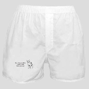 Chihuahuas Kick Butt Boxer Shorts