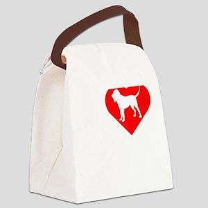 Bloodhound-Darks Canvas Lunch Bag