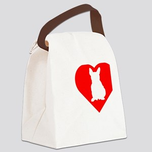 Frenchie-Darks Canvas Lunch Bag