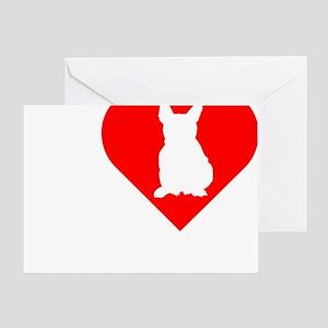 Frenchie-Darks Greeting Card
