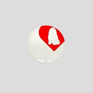 Maltese-Darks Mini Button