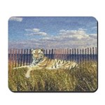 Tiger on the Beach Mousepad