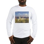 Tiger on the Beach Long Sleeve T-Shirt