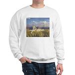 Tiger on the Beach Sweatshirt