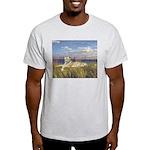 Tiger on the Beach Light T-Shirt