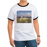 Tiger on the Beach Ringer T