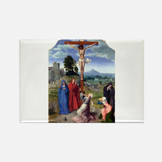 The Crucifixion - Quinten Massys - c 1520 Magnets