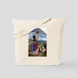 The Crucifixion - Quinten Massys - c 1520 Tote Bag