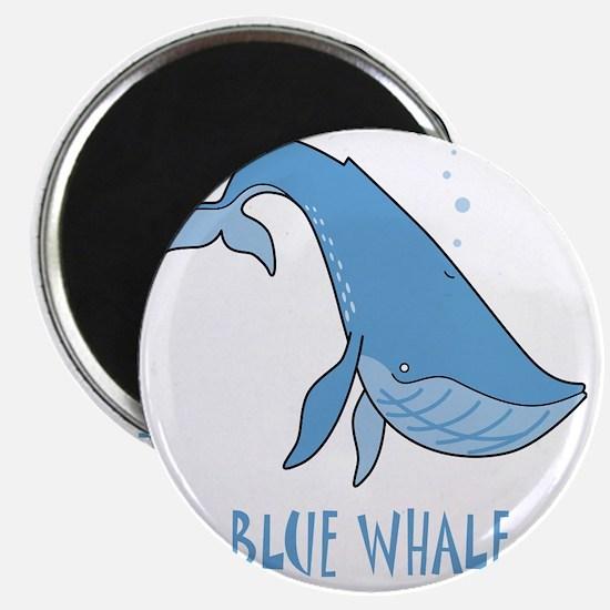 Blue Whale Shirt 10x10 FRONT Magnet