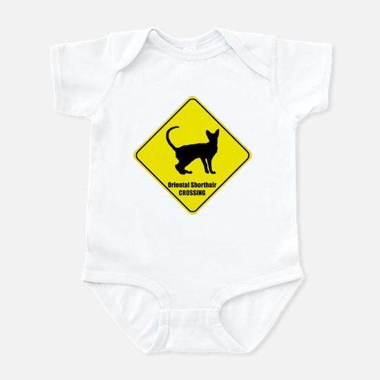 Shorthair Crossing Infant Bodysuit
