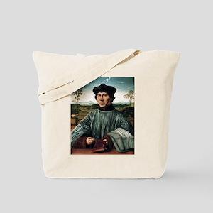 Portrait of a Canon - Quinten Massys - c 1515 Tote