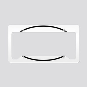 sticker_oval_00_square_dot_ke License Plate Holder