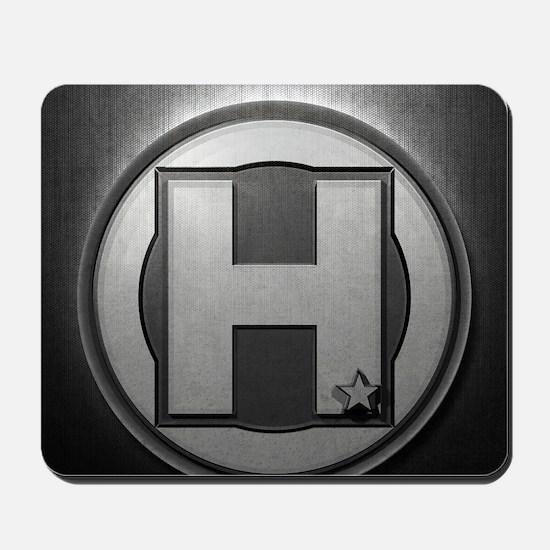 H Steel Mousepad