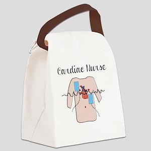 Cardiac Nurse Torso Canvas Lunch Bag