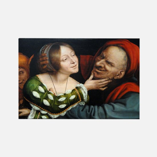 Ill-Matched Lovers - Quinten Massys - c 1520 Magne