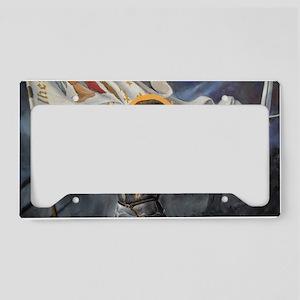 Joan_of_Arc_Prov_fin_slightly License Plate Holder