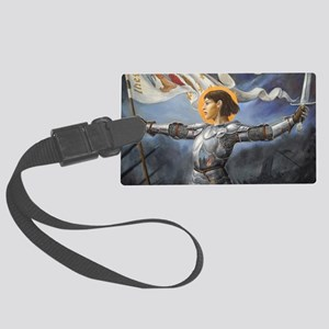 Joan_of_Arc_Prov_fin_slightly br Large Luggage Tag