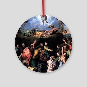 Transfiguration - Raphael Round Ornament