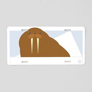 walrus Aluminum License Plate