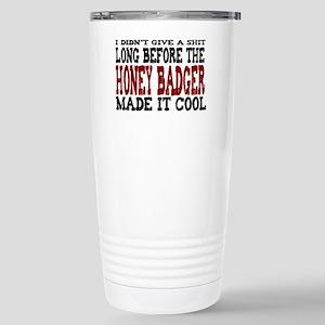 ididntgiveashit Stainless Steel Travel Mug