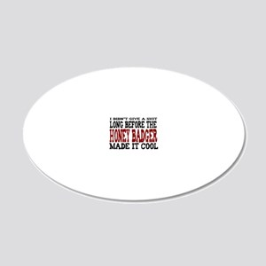 ididntgiveashit 20x12 Oval Wall Decal