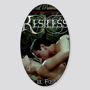 Restless Sticker (Oval)