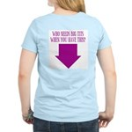 Who Needs Big Tits? Women's Light T-Shirt