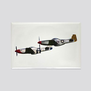 P-51 Rectangle Magnet