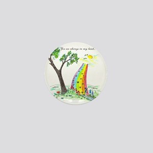 rainbow bridge 2 final Mini Button