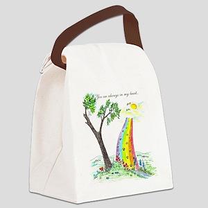 rainbow bridge 2 final Canvas Lunch Bag