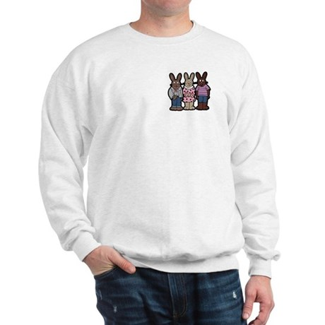 Chocolate Easter Bunnies Sweatshirt