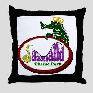 logo_back Throw Pillow