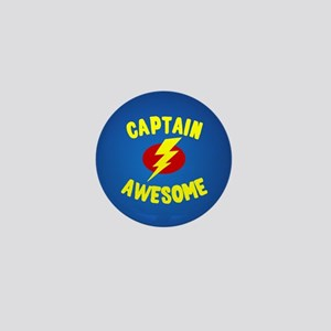 Captain Awesome Mini Button