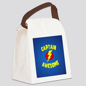 Captain Awesome Canvas Lunch Bag