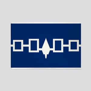 Iroquois Flag Rectangle Magnet