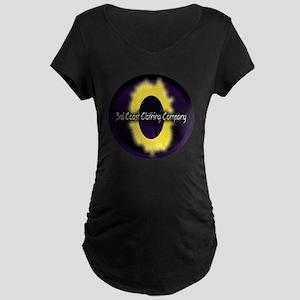 eclipse logo Maternity Dark T-Shirt