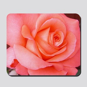 AFP 015a Rose coral clsup Mousepad