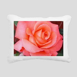 AFP 015a Rose coral clsu Rectangular Canvas Pillow