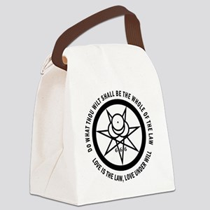 Mark of the Beast Canvas Lunch Bag