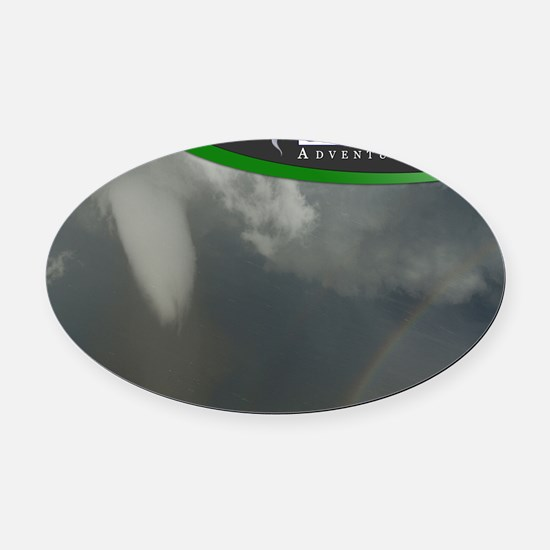 laptop cover Oval Car Magnet
