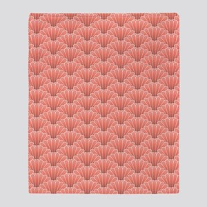 shell_ipad2 sat Throw Blanket