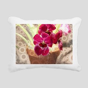 Orchid Rectangular Canvas Pillow