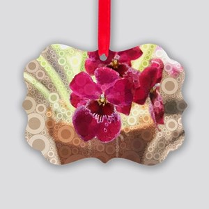 Orchid Picture Ornament