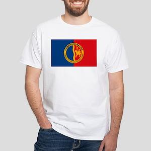 Comanche Flag White T-Shirt