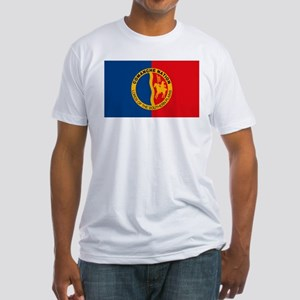 Comanche Flag Fitted T-Shirt