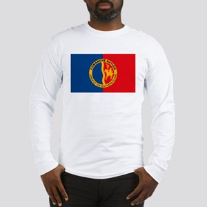 Comanche Flag Long Sleeve T-Shirt