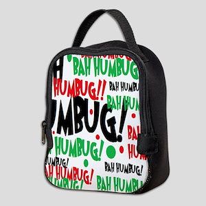 Bah Humbug Chr Neoprene Lunch Bag