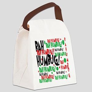 Bah Humbug Chr Canvas Lunch Bag