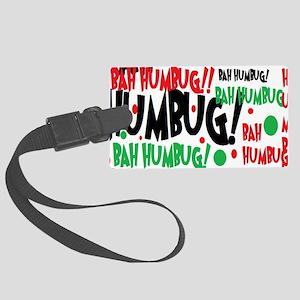 Bah Humbug Chr Luggage Tag
