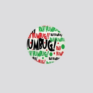 Bah Humbug Chr Mini Button